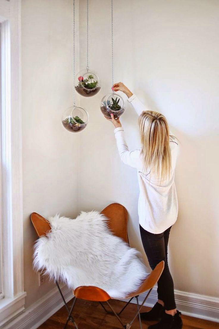 Terrariums ! (DIY inside) À suspendre sur une jolie penderie