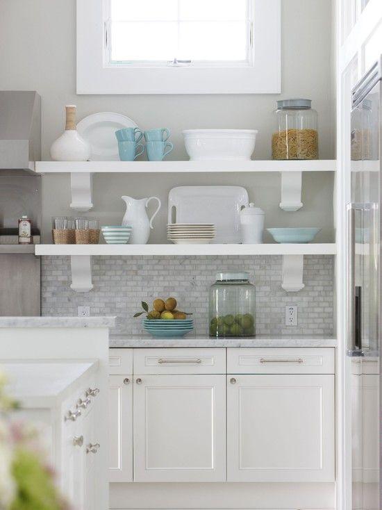 Kitchen Design Open Shelves 55 best kitchen open shelves images on pinterest | open shelves