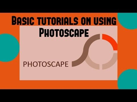 Photoscape Tutorial For Beginners - YouTube