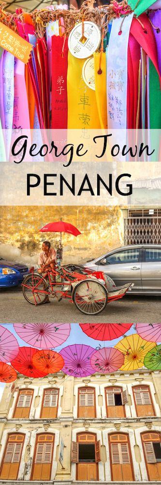 Verliebt in George Town ♡ So schön ist die Hauptstadt von Penang in Malaysia