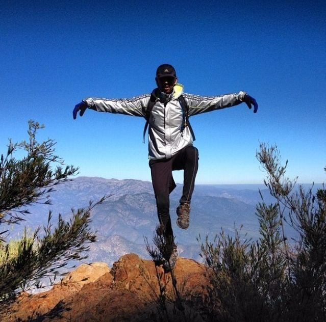 Vic en la montaña