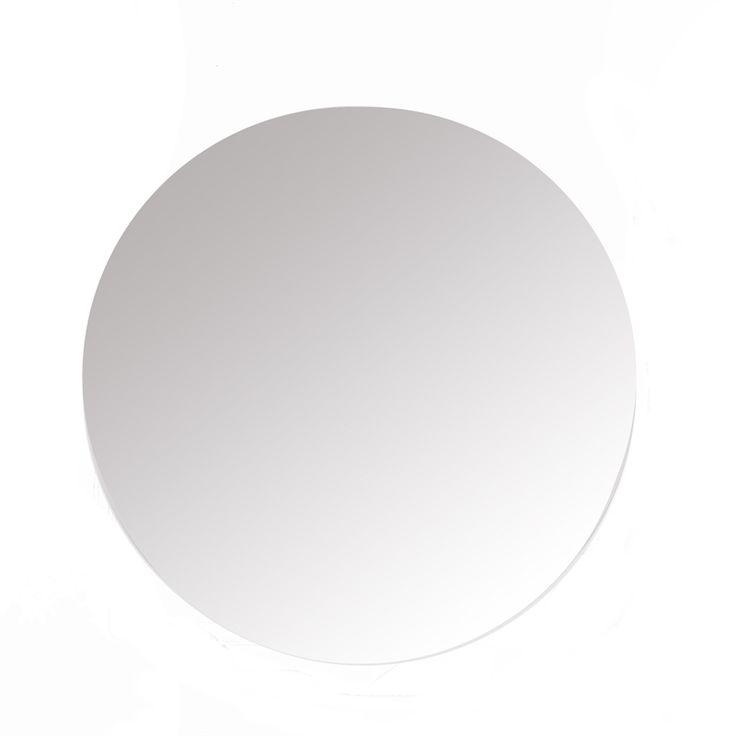 Stein Round Polished Mirror 600mm