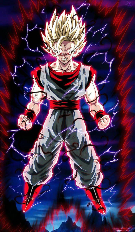 Evil Goku Ssj2 By Naruto999 By Roker Anime Dragon Ball Super Dragon Ball Super Artwork Dragon Ball Super Goku