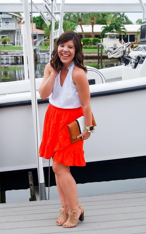 Bright skirt