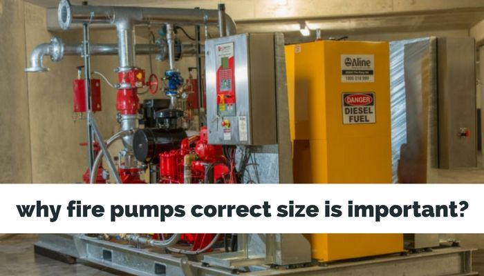 The most significant point is the size of fire pump because without it, sufficient volume with required pressure cannot be obtained. Explore why Fire Pumps Correct Size is Important?