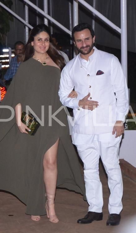 Saif-Kareena make a royal entry at Rima Jain's birthday bash!