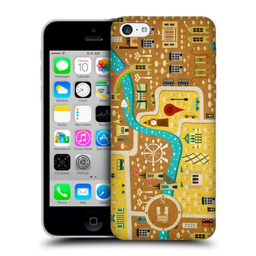 London map phone cover