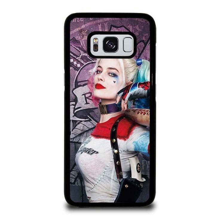 HARLEY QUINN MARGOT ROBBIE Samsung Galaxy S3 S4 S5 S6 S6 Egde S6 Edge Plus S7 S7 Edge S8 S8 Plus Note 3 4 5 8
