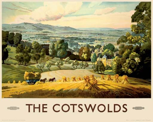 The Costwolds - British Railways - (Chater) -