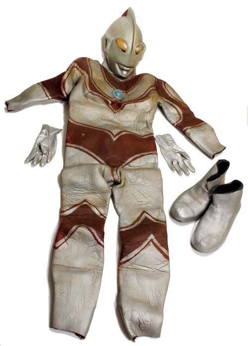 The remains of ULTRAMAN JACK (Return of Ultraman)