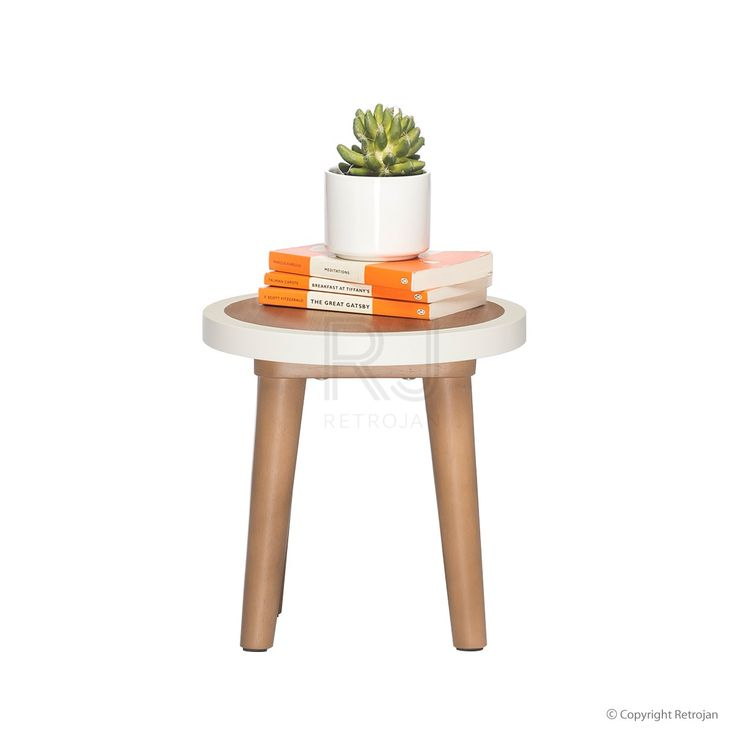 Britt Scandinavian Style Stool / Side Table | $79.00