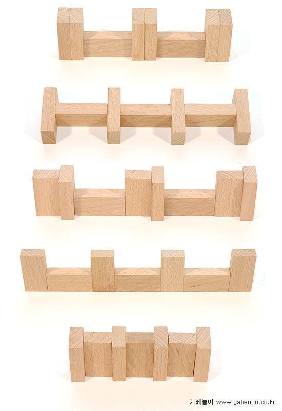 reeksen van blokken