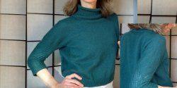 Пуловер оверсайз для женщин фото. О.п.