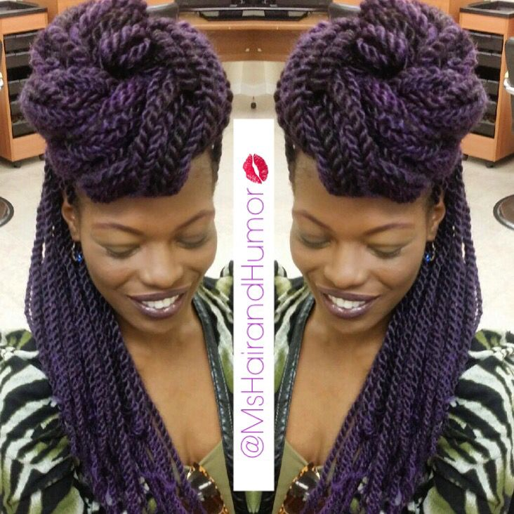 Purple Marley Twists Passion To Profit All Work By Me