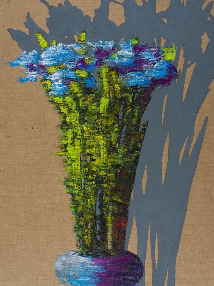 The Empty Real of Dreams, 2013 by Hannu Palosuo. Oil on canvas, 160 x 120 cm. Price 6300€. Inquiries: sari.seitovirta@seitsemanvirtaa.com / GALERIE SEITSEMÄN VIRTAA