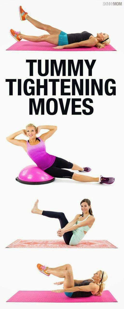 12 Moves To Tighten Up Your Tummy | Fit Villas