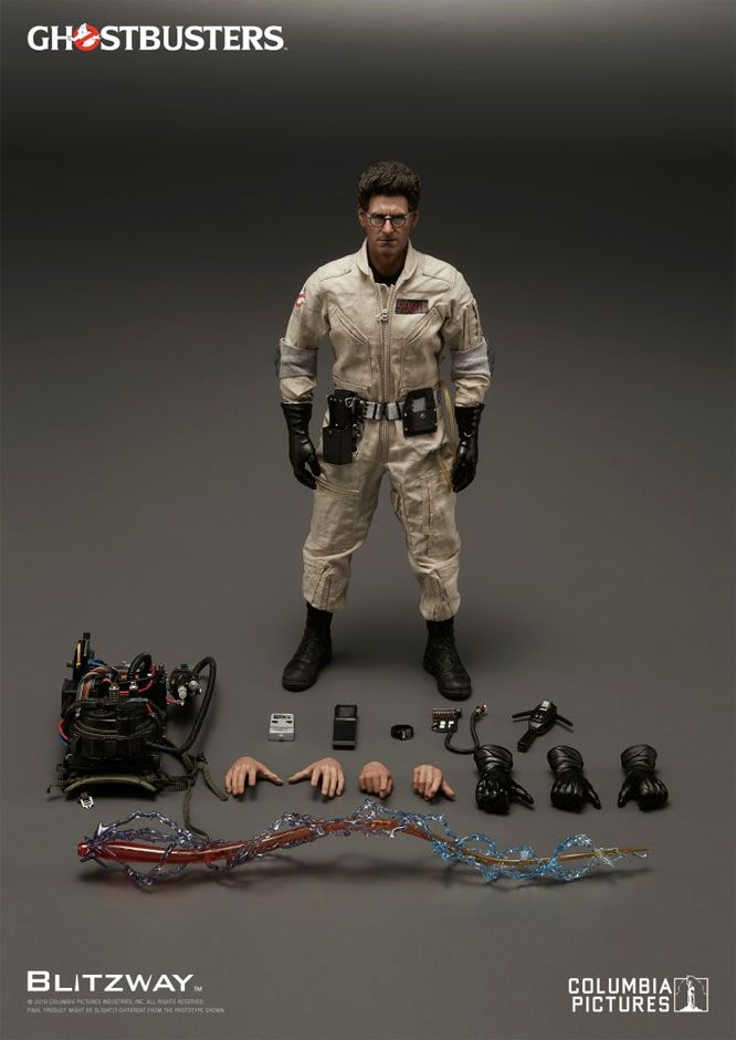 Ghostbusters Egon Spengler 1/6 Scale Figure by Blitzway