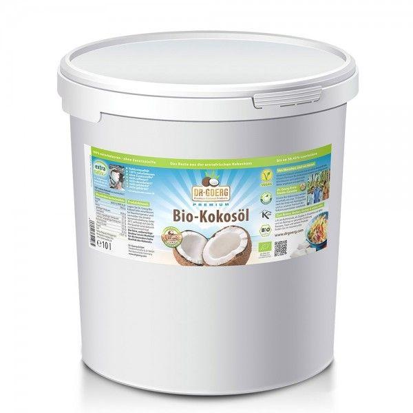 Premium Bio-Kokosöl in 10 Liter-Vorratspackung