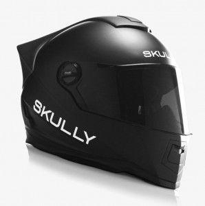 SKULLY, le casque moto branché en réalité augmentée