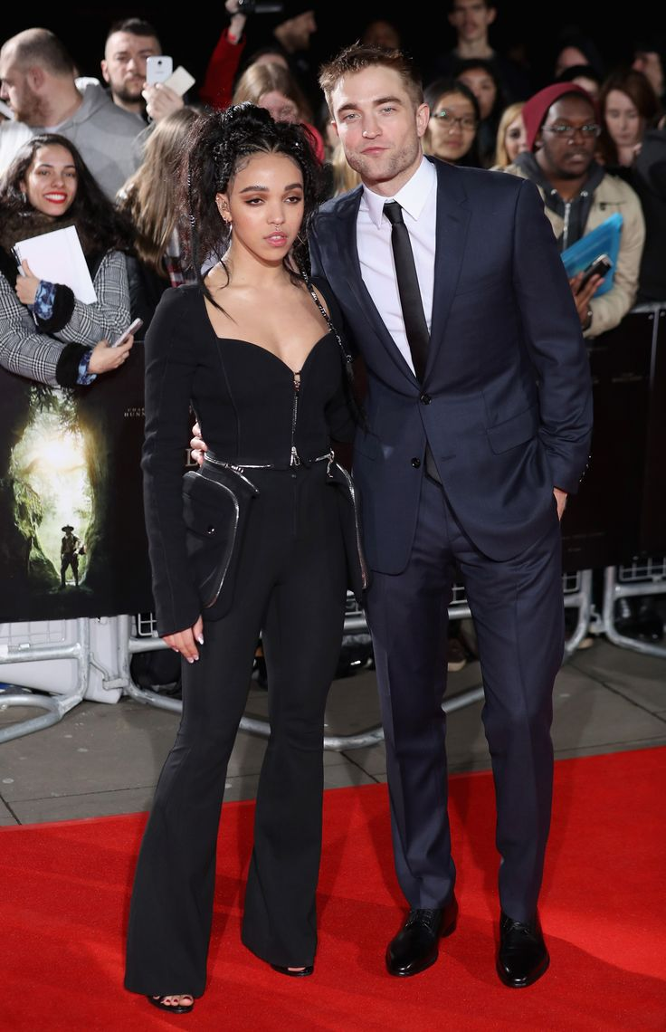 Robert Pattinson and FKA twigs's Consciously Coordinated Red Carpet Style
