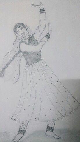 The dancing girl.  Happy n cheerful