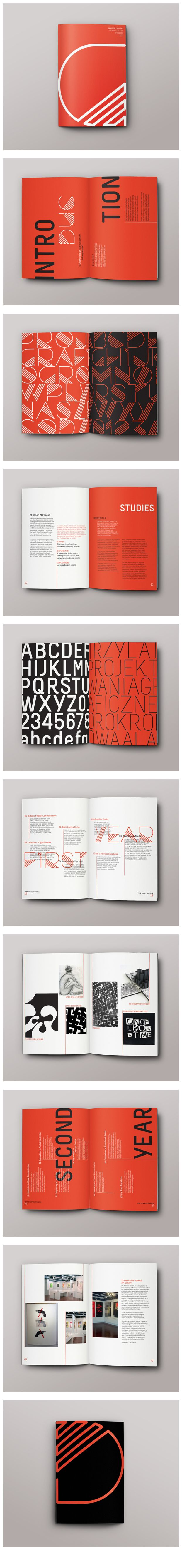 Maria Puché – Brochure for Dawson College graphic design program. Spring 2013