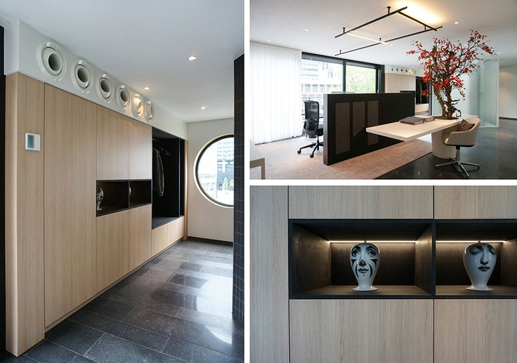 Martijne Interieur - office realisation for a real estate agency in a former appartment in Rotterdam