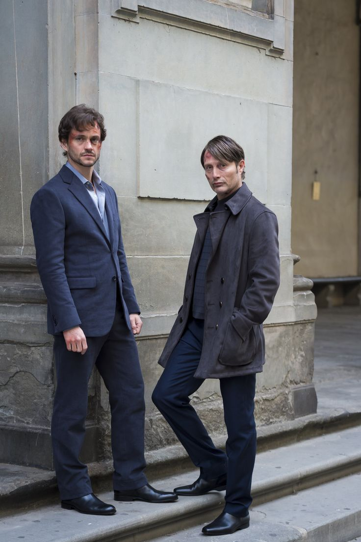 Hugh Dancy and Mads Mikkelsen, Hannibal – S3E6 Dolce (high quality)