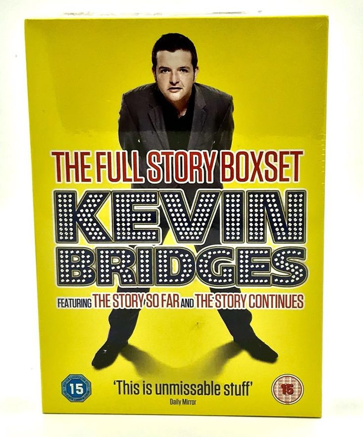 Kevin Bridges The Story So Far The Story Continues 2 Discs Dvd Full Story Set