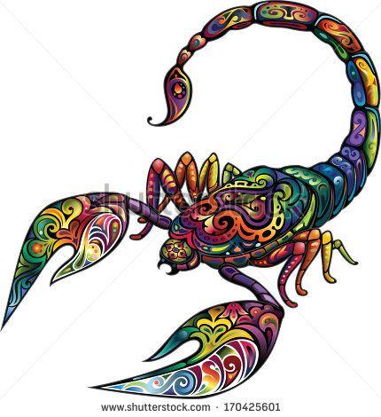 Cheerful scorpion