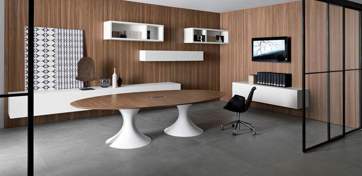 Meeting Design Table Ola by Martex, Designer Mario Mazzer   OfficeFurnitureItaly