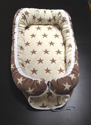 Babynest i stjärntyg