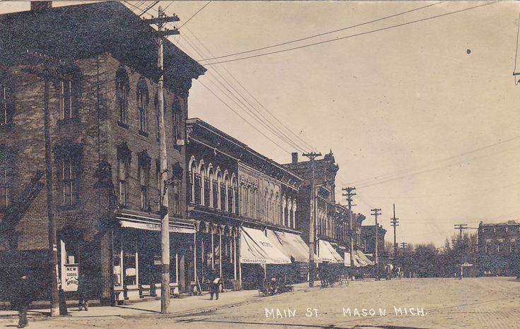 RP: Main Street , MASON , Michigan , 00-10s