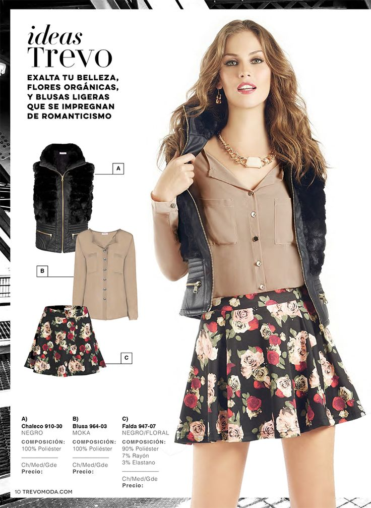 Viste con estilo, viste con #trevo #moda