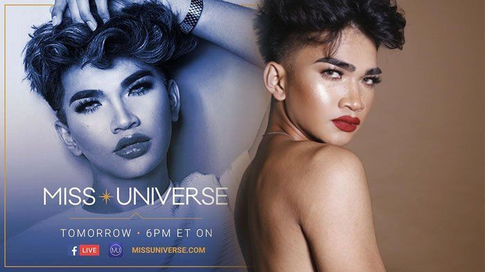 Miss Universe 2016 - Kemayunya Selebgram Asal Filipina Ini Saat Jadi Pembawa Acara Red Carpet