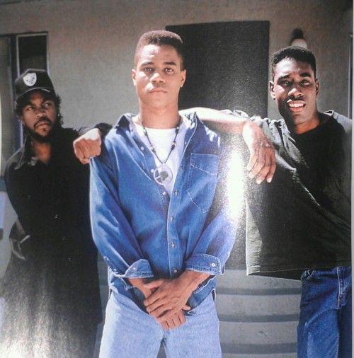 Ice Cube, Cuba Gooding Jr. & Morris Chestnut (Boyz 'N The