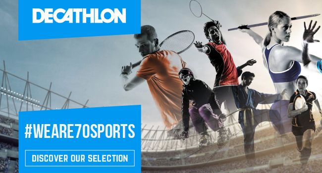 Decathlon, the world's biggest sports retailer and online sports store for camping, cycling, running, gym, horse riding and much more. SHOP NOW!