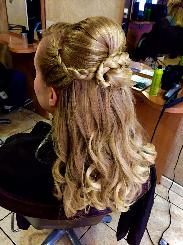 Soft waves & curls , plaits Louise@ jades