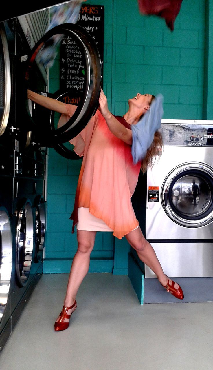 Dancing and drying at the Laundromat - outtakes from the 2014 Collusion Music photo shoot at Snap Laundromat - www.snaplaundromat.com.au #Snap Laundromat #snaplaundromat #Taringa #Brisbane #CollusionMusic #Laundromats #Dancers at the Laundromat