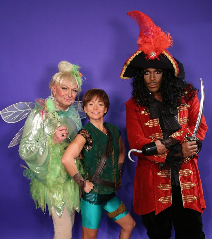 pin for later 27 vintage movie halloween costumes worn by celebrities peter pan and captain hook ripa and strahan appeared as the iconic storybook - Oprah Winfrey Halloween Costume