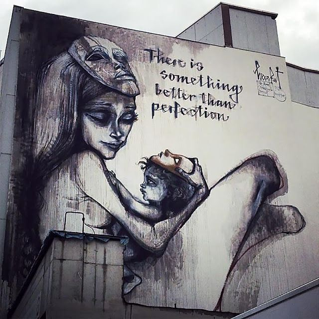 Street Art By Herakut In Frankfurt For The Giant Story Book Project
