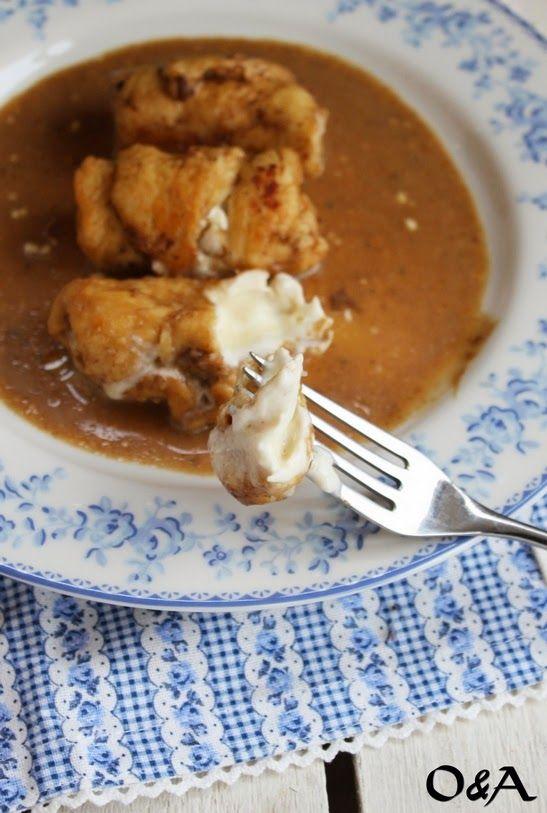 Olio e Aceto: Ricetta involtini di pollo con salsa all'aceto balsamico