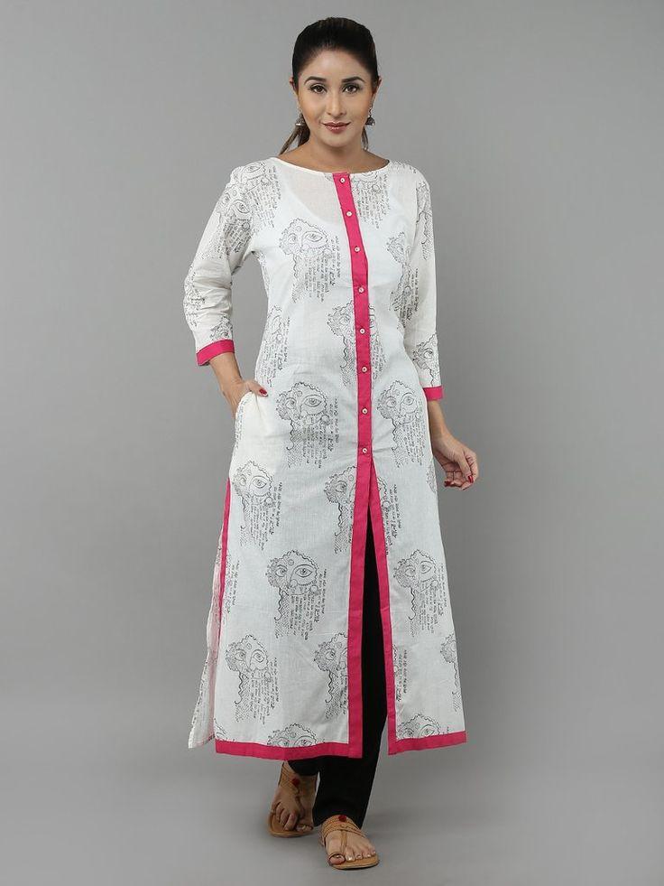 Designer White Kurta For Women Www Pixshark Com Images