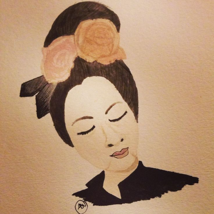 Trying to be old fashion style watercolour (Annie Bea)
