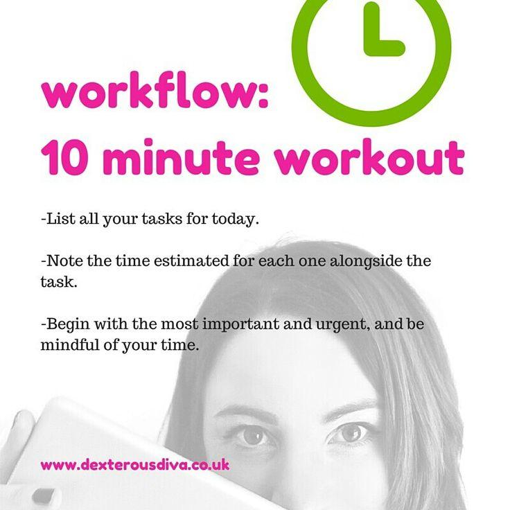 List and attack. #divasdaily10 #10minuteworkout #business #mentor #success #yesyoucan #mindset #abundance #womeninbiz #bizcoach #tips www.dexterousdiva.co.uk