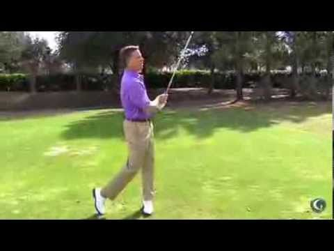 Michael Breed-Proper Weight Shift - YouTube