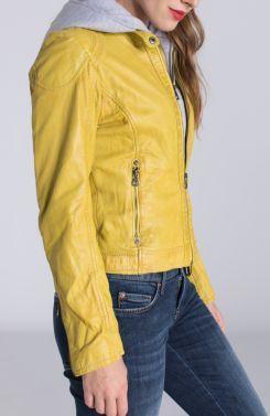 Biker jack yellow