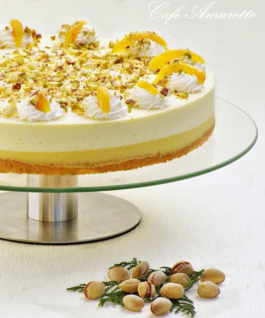Tort brzoskwiniowy @cafeamaretto