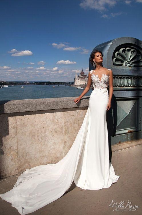 vestido de noiva tendência vestido milla nova moda 2016 noiva