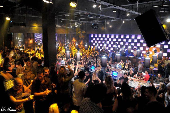 Chin Chin club in Tel aviv